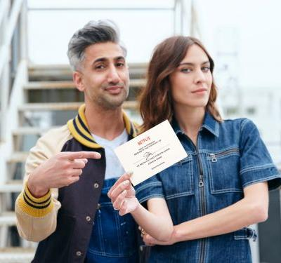 Get Excited: Tan France and Alexa Chung Are Hosting a New Fashion Series on Netflix