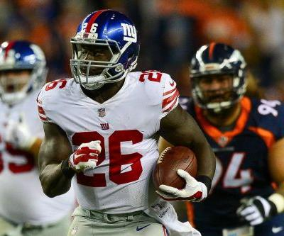In a flash, Orleans Darkwa became the talk of the Giants