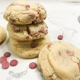 We're Trying Really Hard Not to Freak Out Over These Ruby Chocolate Chip Cookies