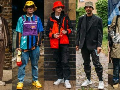 Bucket Hats Are Still Big, According to Street Style at London Fashion Week Men's