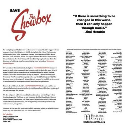 Pearl Jam, Guns N' Roses, and over 150 artists rally to save Seattle's The Showbox