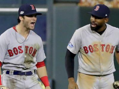Spectacular catch leaves Red Sox one game away from World Series