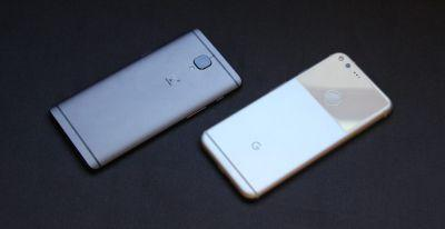 Google Pixel XL vs. OnePlus 3T: Easily two of the year's best Android phones, but not easy to pick
