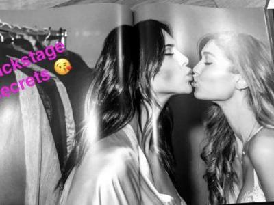 Kendall Jenner and Gigi Hadid Just Kissed on the Lips for Snapchat