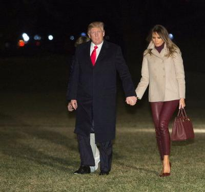 Melania and Donald Trump broke protocol in an unusual way - and it could unveil a mystery regarding the state of their marriage