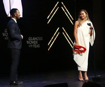 John Legend's Speech About Chrissy Teigen At The Glamour WOTY Awards Was So, So Moving