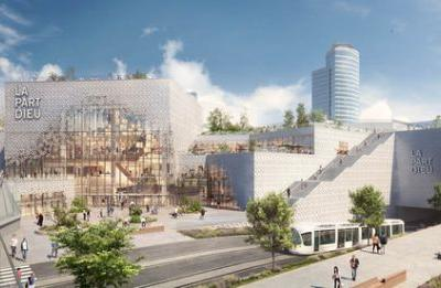 Construction Begins on MVRDV's Redesign for Europe's Biggest Urban Shopping Center
