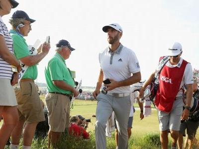 U.S. Open 2018: Dustin Johnson rushes to avoid media after disappointing finish