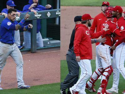 Amir Garrett suspended 7 games, Javier Baez fined after Cubs-Reds benches-clearing incident Saturday