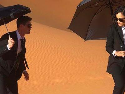 'Men in Black' Reboot Photo Reveals The Agents Facing Off Against Their Biggest Threat Yet - Sweltering Desert Heat
