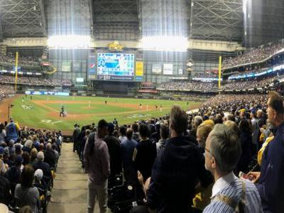 Brewers take Game 1 from Dodgers; first pitch Saturday at 3:09 p.m