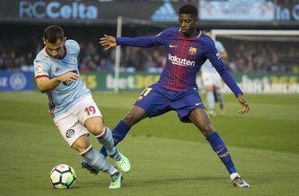 Barcelona rests Messi, draws at Celta Vigo in Spanish league