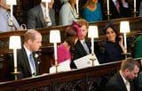 The Chatty Royal Foursome Stuck Together in Their Seats at Princess Eugenie's Wedding