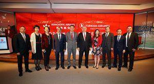 Turkish Airlines and Hong Kong Airlines Launch A New Collaboration