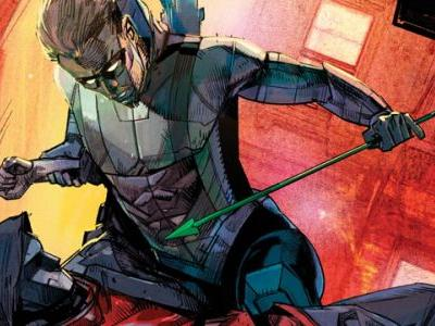 Exclusive Preview: Green Arrow 47 Puts Oliver In the Electric Chair