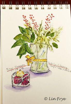 Journal Still Life - Floral