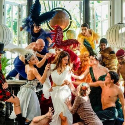 All that went down at the bohemian wedding of Kaabia Grewal of Outhouse in Vietnam