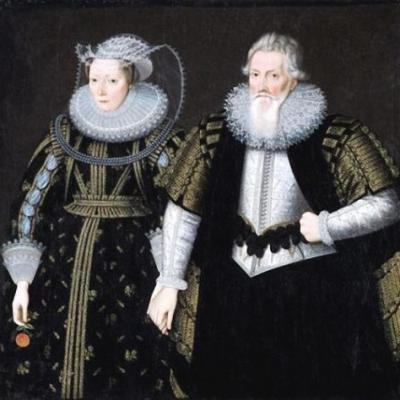 Valentine's Day - A few 1600s couples in the Ruff