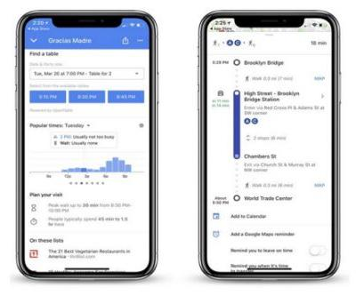 Google Maps For iOS Can Now Show Restaurant Wait Times
