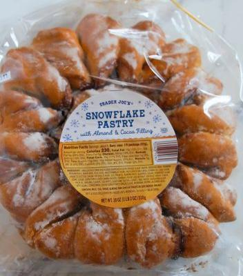 12 Days of Trader Joe's Christmas: Day 2, Snowflake Pastry