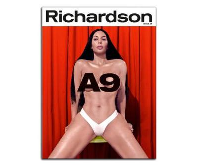 Bret Easton Ellis Interviews Kim Kardashian West for Richardson Magazine Issue A9 Cover Story
