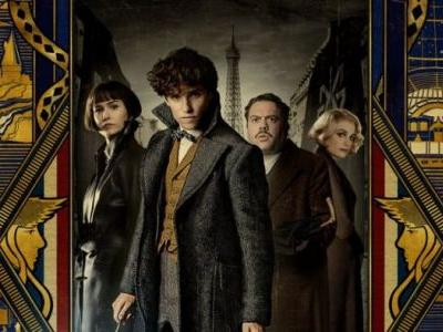 Art Deco-Inspired 'Fantastic Beasts: The Crimes of Grindelwald' Poster Hits Comic-Con 2018