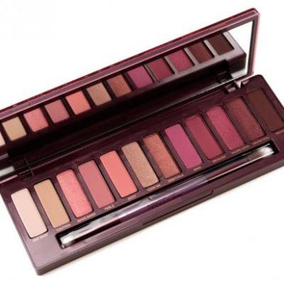 Urban Decay Naked Cherry Eyeshadow Palette Review & Swatches