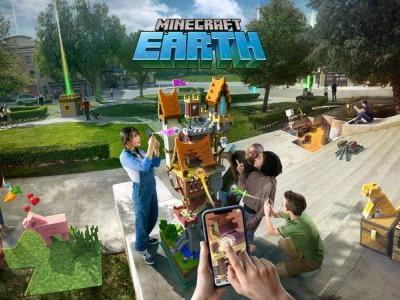 Minecraft Earth, Microsoft's new mobile AR game, could be absolutely HUGE