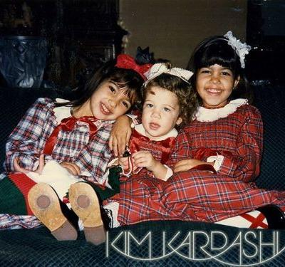 The Evolution of the Kardashian Christmas Card, from the '80s to Now