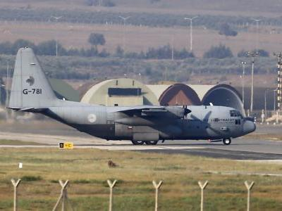 A US Air National Guard C-130 military transport plane has crashed in Georgia