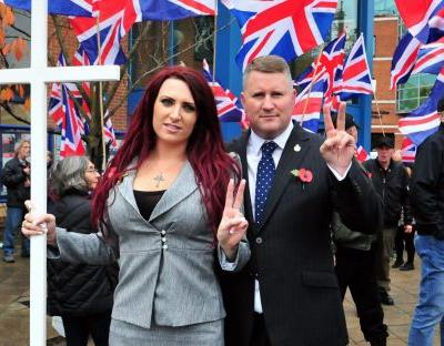 Facebook bans pages of Britain First and leaders Paul Golding and Jayda Fransen