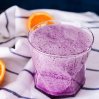Oat Blueberry Smoothie