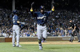 Brewers beat Cubs 5-1 to move within 1 game in NL Central