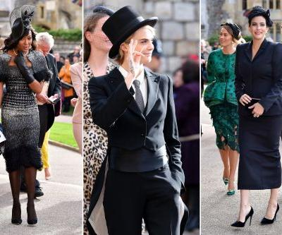 Stars arrive at royal wedding of Princess Eugenie and Jack Brooksbank