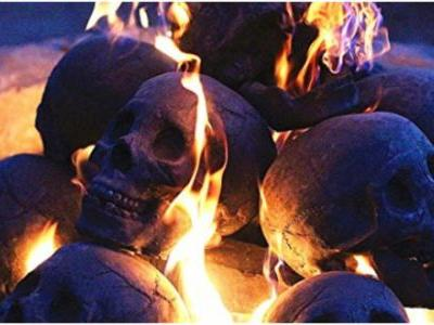 These Skull Logs Will Make Your House Extra Creepy This Halloween
