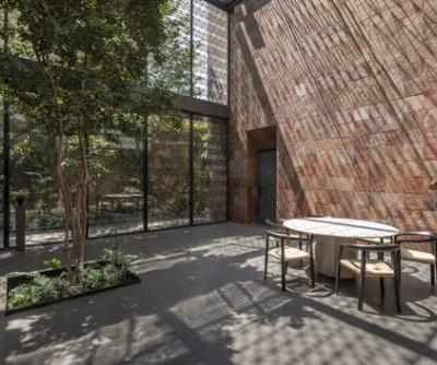 3 Patios House / Once Once Arquitectura