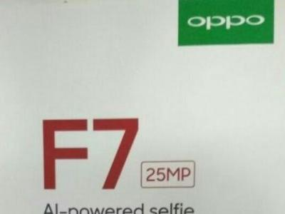 Leaked documents reveal OPPO F7 specs, confirms AI-based features