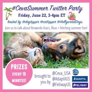 RSVP for the CevaSummer Twitter Party!