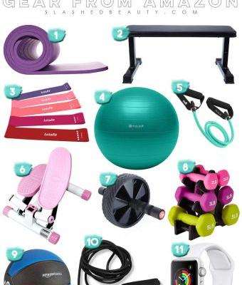 11 Must-Have At Home Workout Gear Picks from Amazon