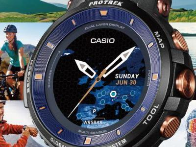 Casio releasing an incredibly rare version of its Pro Trek WSD-F30 smartwatch