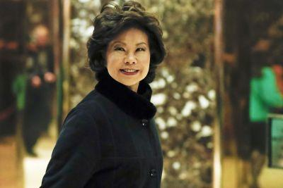 Trump to select Elaine Chao for transportation secretary