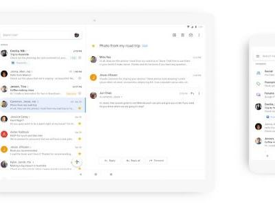 Gmail Redesign for iOS Rolling Out Starting Today