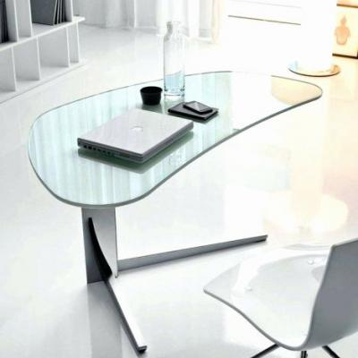 30 Awesome Modern Glass Office Desk Images