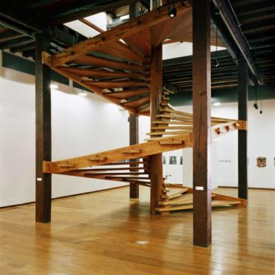 Lina Bo Bardi and Her Helicoidal Wooden Staircase: Tradition and Modernity