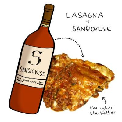 The Best Wine to Pair with Lasagna
