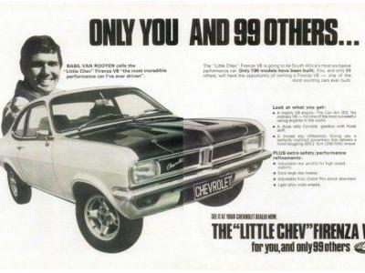 The Chevrolet Firenza Can-Am Is A Tiny Muscle Car With A Z28 Heart