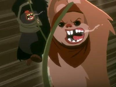New STAR WARS: GALAXY OF ADVENTURES Short Shows Ewoks as Insane Warriors You Don't Want To Mess With