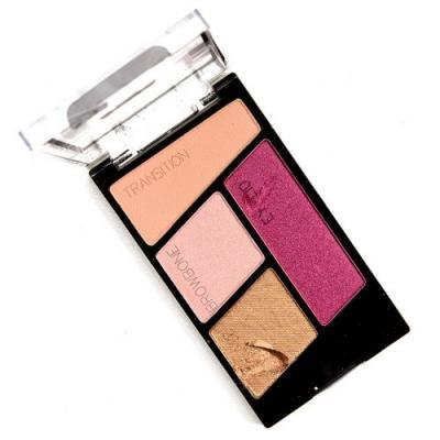 Wet 'n' Wild Flock Party Color Icon Eyeshadow Quad Review, Photos, Swatches
