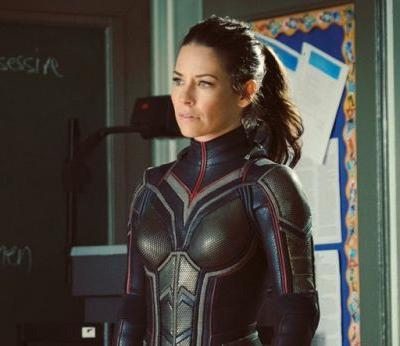 Evangeline Lilly in Full Costume on Ant-Man and The Wasp Set!