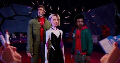 'Spider-Man: Into the Spider-Verse' Clip: Meet the Rest of the Spider Heroes